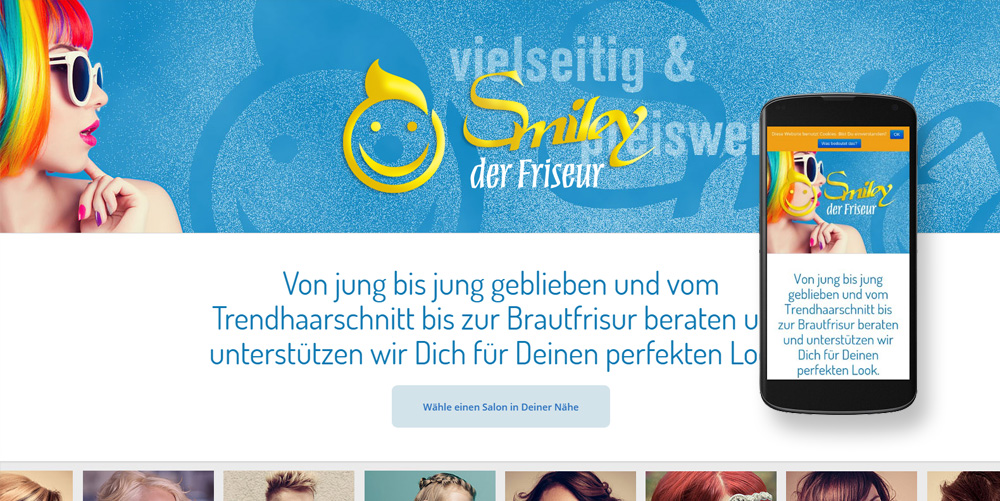 Smiley Der Friseur Jiffydesk